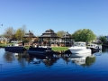 Calmer day and great pic of the 2015 spring boat show