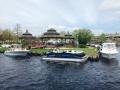Century sea hunt and ap 250 express shot Huddy Park boat show