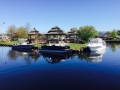 Good angle shot of the spring 2015 huddy park boat show