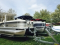 Our row of Pontoons at the 2015 huddy park spring show