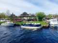rough water pic of our 5th annual spring huddy park in water boat show